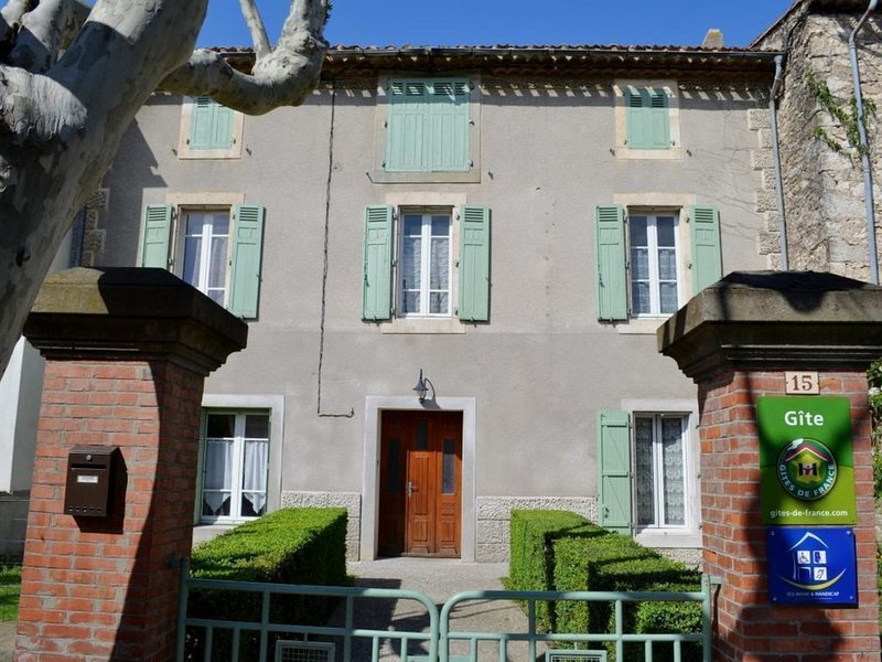Gite le Bouis - VILLENEUVE MINERVOIS - 8 personnes, holiday rental in Lastours