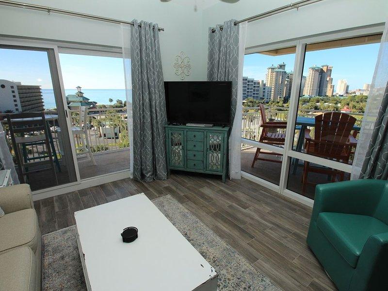 5th floor Beach views corner unit 6532. Great rates. New Listing!, alquiler de vacaciones en Sandestin