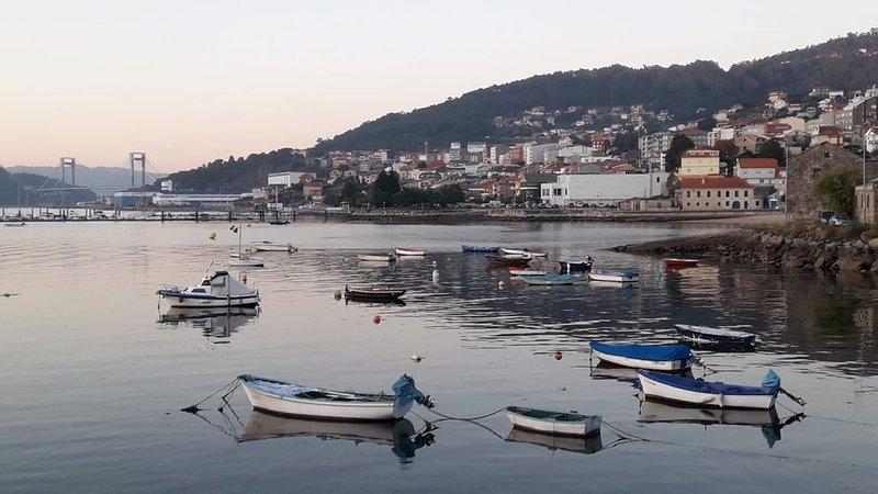 Vigo al mar . Casa en Chapela, holiday rental in Cobres