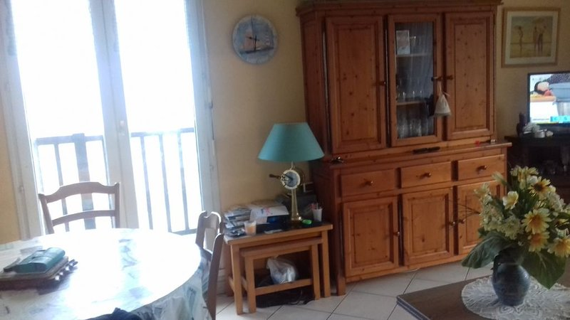 Appartement Front Mer  Vue exceptionnelle, vacation rental in Gonneville-en-Auge