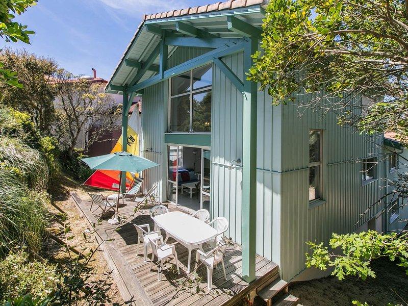NEW ! La sud, maison lumineuse et spacieuse à 200 m de la plage sud !, casa vacanza a Hossegor