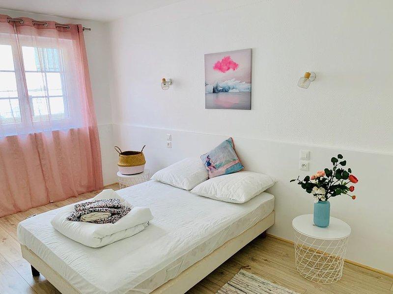 Bel appartement T2 à Guéthary accès PLAGE VILLAGE COMMERCES à pied!, alquiler vacacional en Guéthary (Getaria)