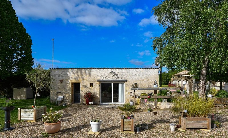 Le luxe du calme, la sérénité des vignes, proche des centres touristiques., holiday rental in Clion