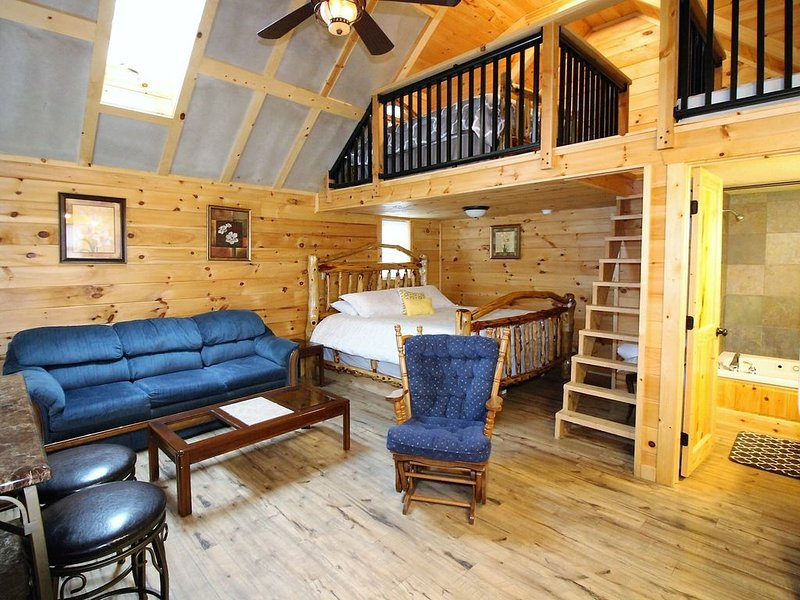 Beautiful Cabin Sleeps 6, aluguéis de temporada em Dixon