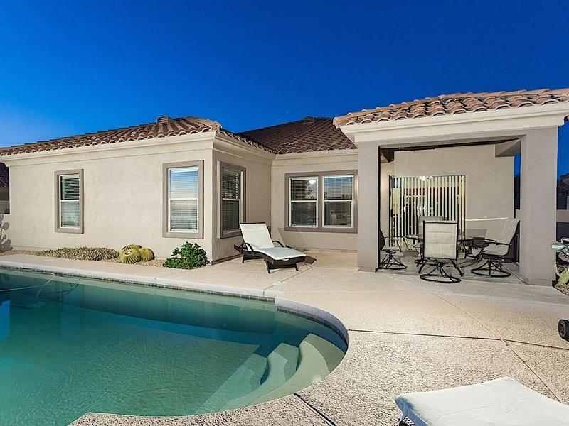 *SANITIZED*  Legend Oasis Spectacular 4 BR/ PVT Pool/ Golf/ Scottsdale, vacation rental in Carefree