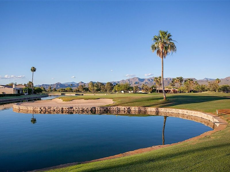 Localizado no campo de golfe