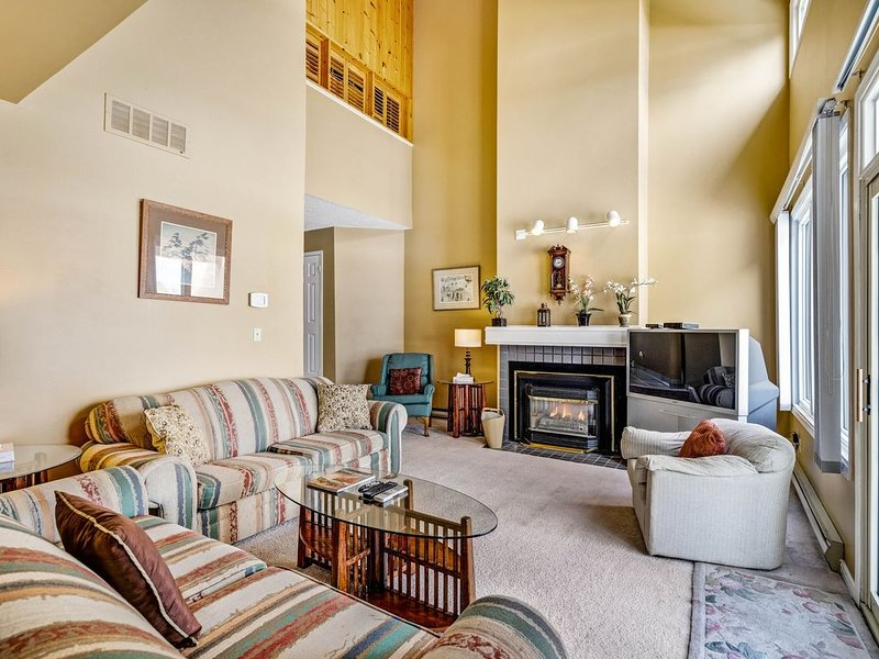 Spacious dog-friendly retreat w/private sauna, furnished patio & gas grill, holiday rental in Blue Mountains