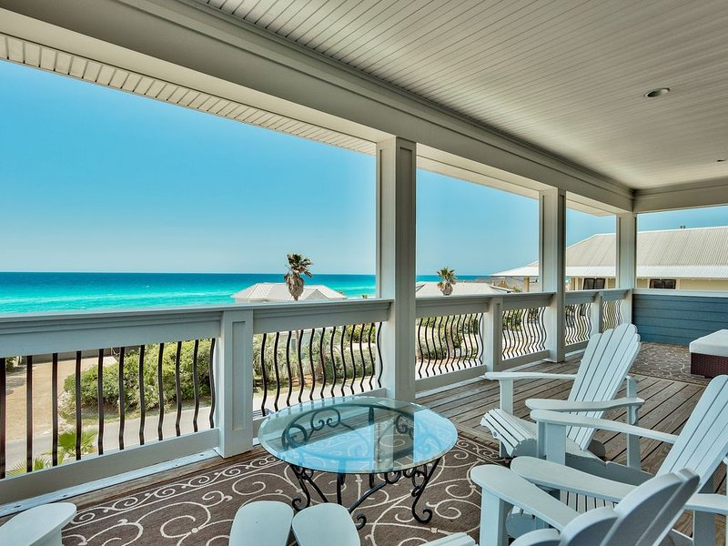 Beautiful Emerald Coast views, private pool, S. of 30A, Sleeps 28, vacation rental in Inlet Beach