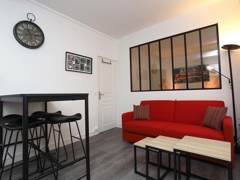 NOUVEAU F2 VIEUX TOURS PLACE PLUMEREAU, holiday rental in La Membrolle-sur-Choisille