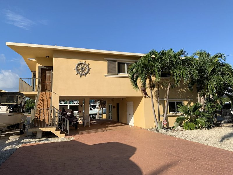 Canal ocean property.  Key largo, holiday rental in Sunset Point
