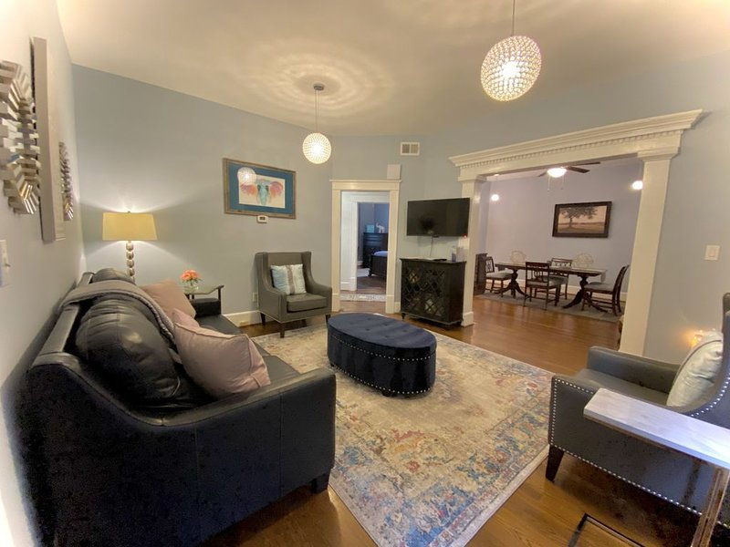 Historic Charmer 3 blocks from Main St!!! PROFESSIONALLY CLEANED AND SANITIZED, vacation rental in Greenville