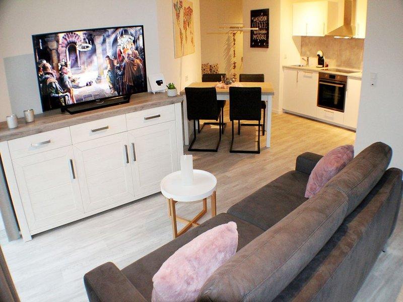 Sielhuus 3 - Exklusive Neubau-Wohnung im EG (Fertigstellung November 2019), location de vacances à Butjadingen
