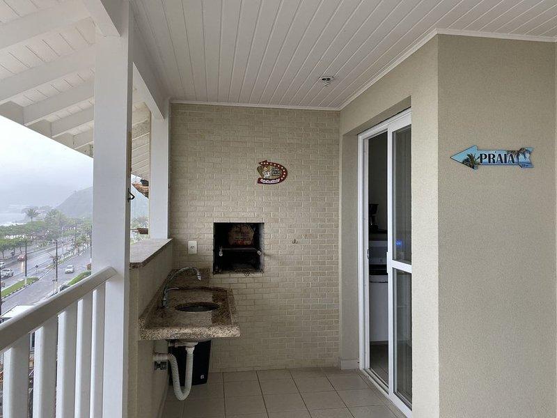 Apartamento de frente para o mar - Praia Grande, casa vacanza a Ubatuba