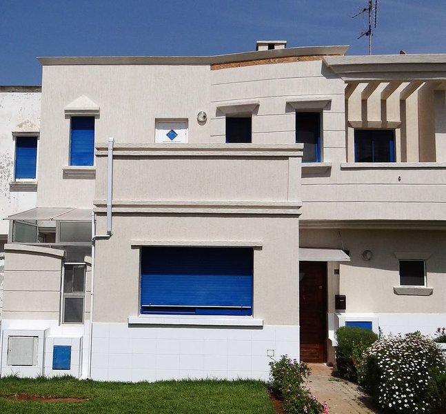 Very confortable house with garden at Skhirat Beach close to Rabat, alquiler de vacaciones en Región de Rabat-Salé-Zemur-Zaer