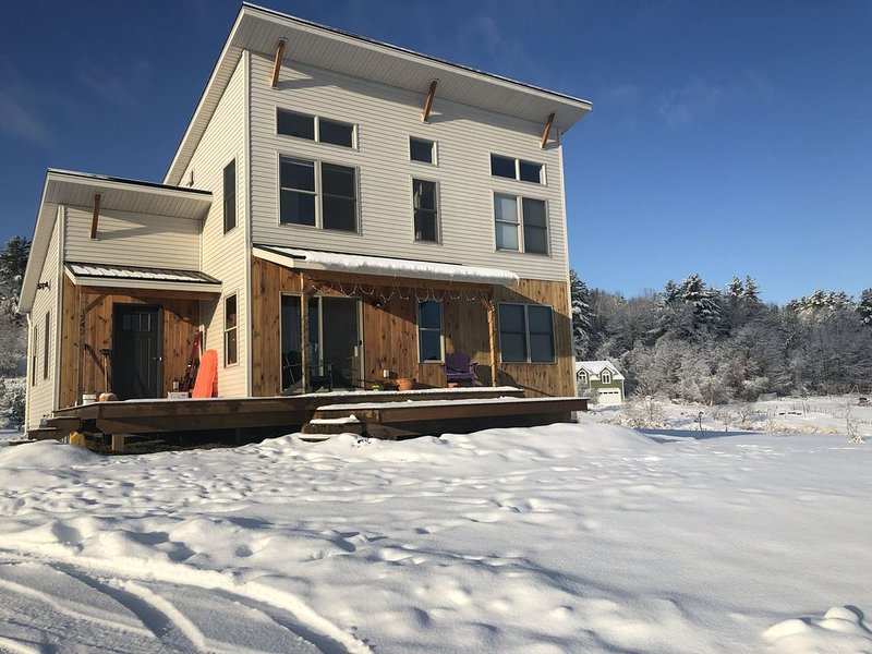The Snow Globe in Richmond, VT, holiday rental in Monkton