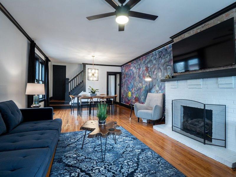 Luxurious Mid-Century Home in German Village, vacation rental in Columbus