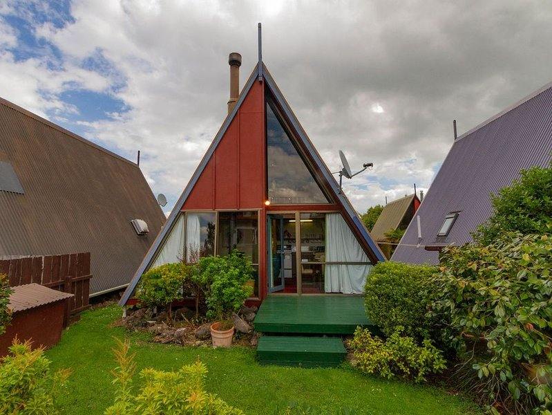 Cherry Ripe A-Frame - Ohakune Holiday Home, alquiler vacacional en National Park Village
