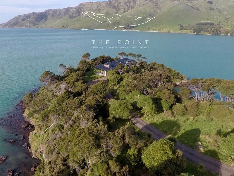 The Point - Pigeon Bay Holiday House, Ferienwohnung in Canterbury Region