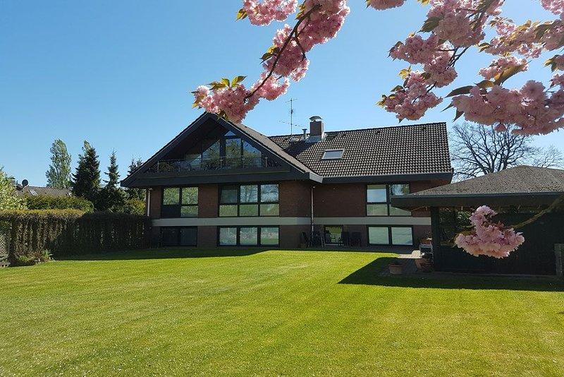 Studio in Seevetal,familienfreundlich,stadtnah,ruhig,Garten,WLAN,bis 3 Personen, vacation rental in Hanstedt