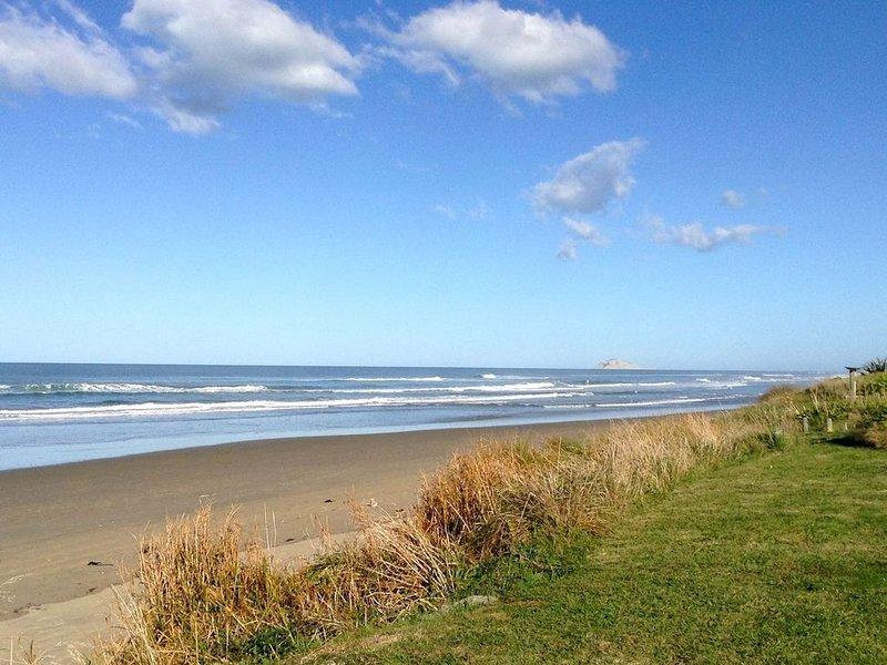 Kiwiana Bach - Ocean Beach Bach, alquiler de vacaciones en Havelock North