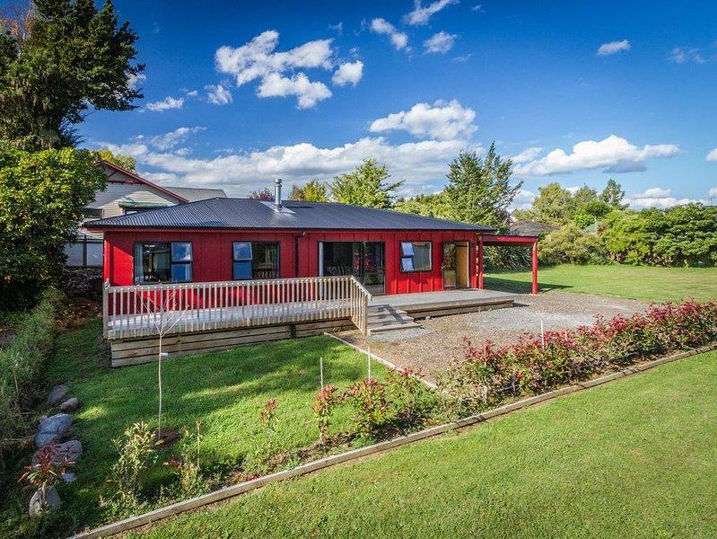 Cosy Alpine HQ - Ohakune Holiday Home, alquiler vacacional en Raetihi