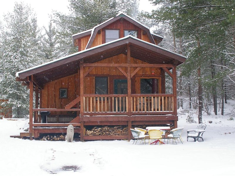 Lion's Den Cabin at The King's Pines, holiday rental in Glenfield