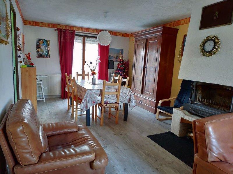 Maison à Clairvaux Les Lacs, location de vacances à Geruge