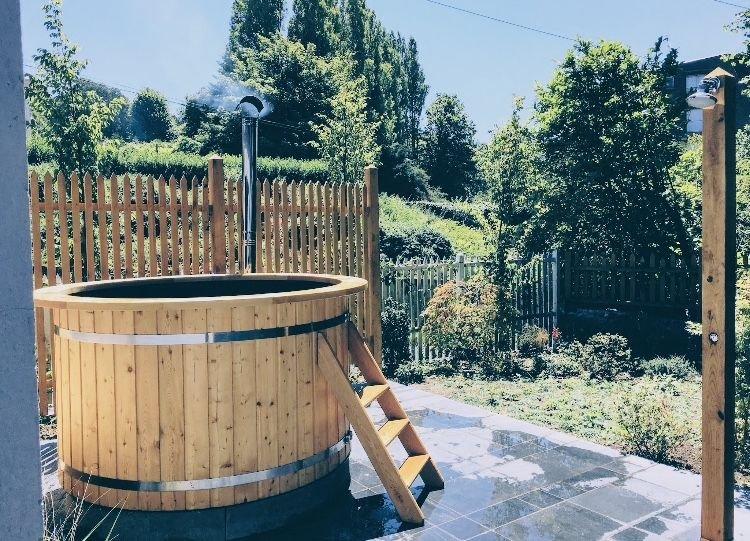 Jolie villa avec 'vue mer' avec jardin et bain nordique à Trouville-sur-Mer, location de vacances à Deauville
