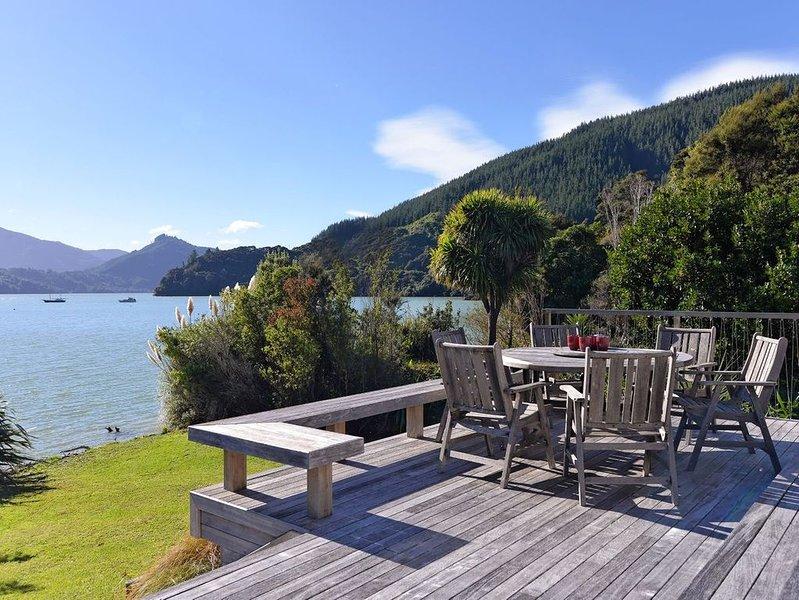 Ngaire's Haven - Mahau Sound Holiday Home, alquiler vacacional en Marlborough Region