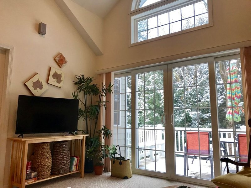 Beautiful Jiminy Peak Mountainside Condo Near Lifts - Just Remodeled, alquiler vacacional en Hancock