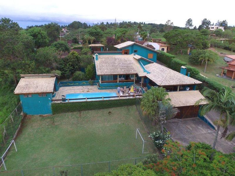 Chácara na Represa - 5 Dormitórios (3 Suítes), holiday rental in Ibiuna