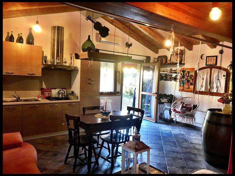Casa dell'Orcio in campagna, alquiler vacacional en Dogaletto