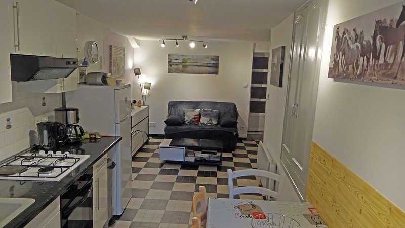 APPARTEMENT 40 m² pour 2 à 4 personnes, vacation rental in Saint Michel de Boulogne