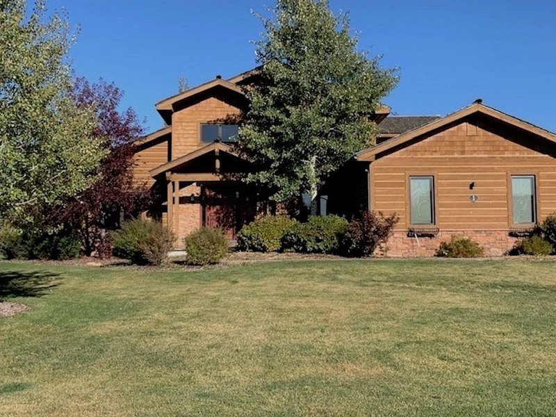 Mountain Home in Victor Idaho, holiday rental in Swan Valley