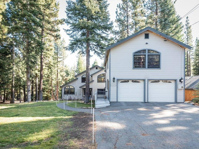 Secluded high quality home, nestled in a forested, private neighborhood