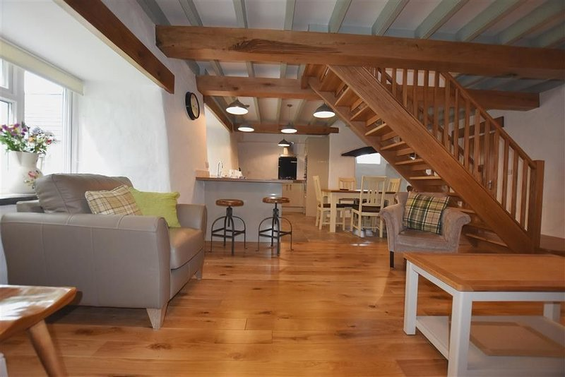 The Old Farmhouse Kitchen, ST DAVIDS, vacation rental in Trefin