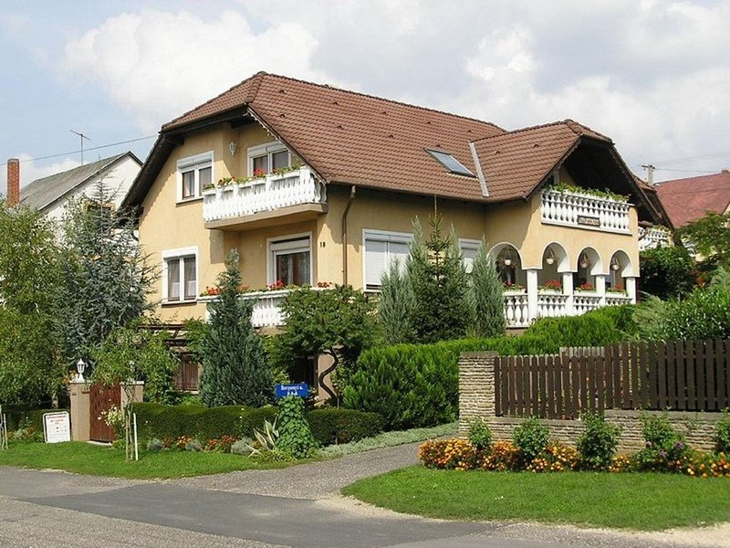 Ferienwohnung con balcone, casa vacanza a Transdanubio Occidentale