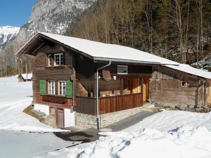 Ferienhaus Stechelberg für 2 - 3 Personen mit 1 Schlafzimmer - Ferienhaus, holiday rental in Murren