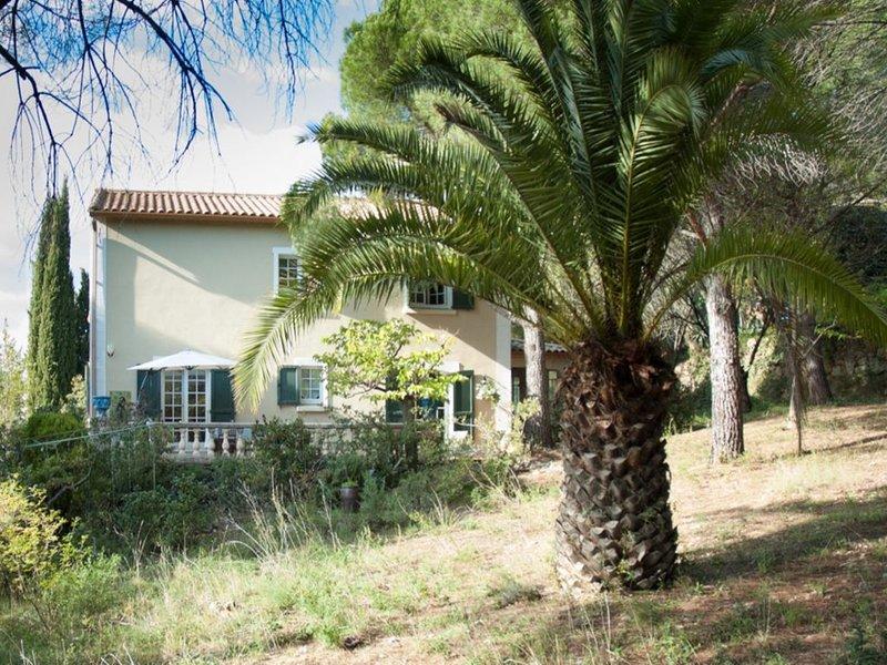 Charmant vakantiehuis aan de rand van Roquebrun voor 6 personen, holiday rental in Vieussan