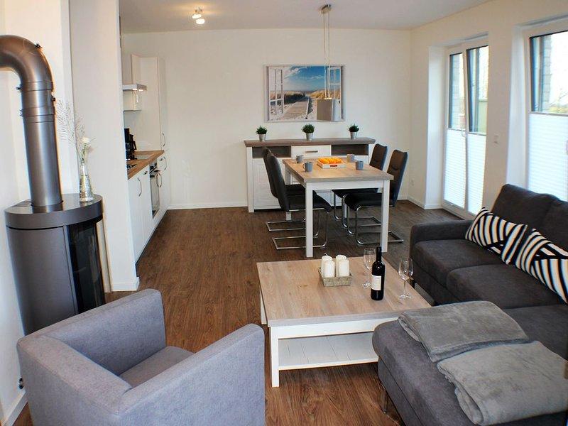 Sielhuus 1 - Exklusive Erdgeschosswohnung (Fertigstellung November 2019), location de vacances à Butjadingen