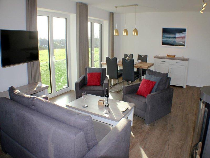 Mien Dröm - Exklusive Neubau-Wohnung im 1. OG (Fertigstellung November 2019) – semesterbostad i Butjadingen