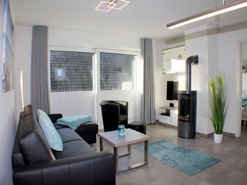 Sielhuus 9 - Exklusive Neubau-Wohnung im 1. OG (Fertigstellung November 2019), location de vacances à Butjadingen
