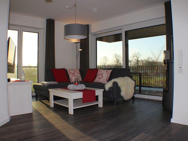 Liegeplatz 10 - Exklusive Neubau-Wohnung im 1. OG (Fertigstellung November 2019), location de vacances à Butjadingen