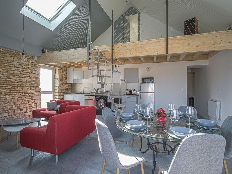 Bel appartement lumineux Proche plage et Caen, location de vacances à Hermanville-sur-mer