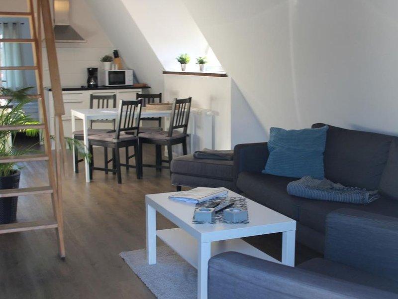 De olle leive - gemuetliche FeWo f?r 4 Pers., sonnige Dachterrasse, Hunde erlaub, casa vacanza a Hessenburg