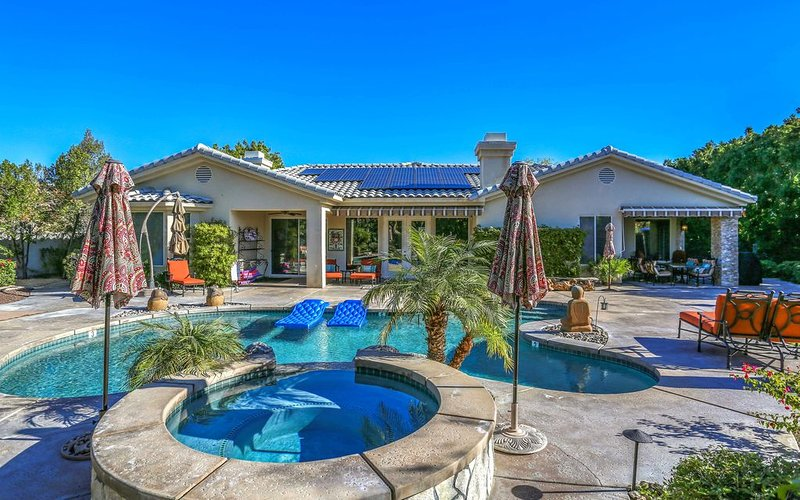 Rancho Mirage. The Morning Glory Estate, near golf and tennis., holiday rental in Thousand Palms