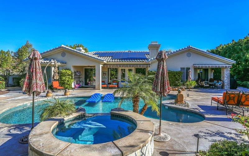 Rancho Mirage. The Morning Glory Estate, near golf and tennis., alquiler de vacaciones en Rancho Mirage