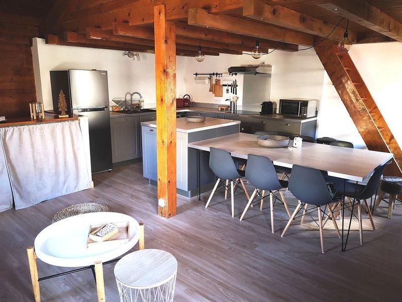 Maisonette serre chevalier vallée, holiday rental in Saint-Chaffrey