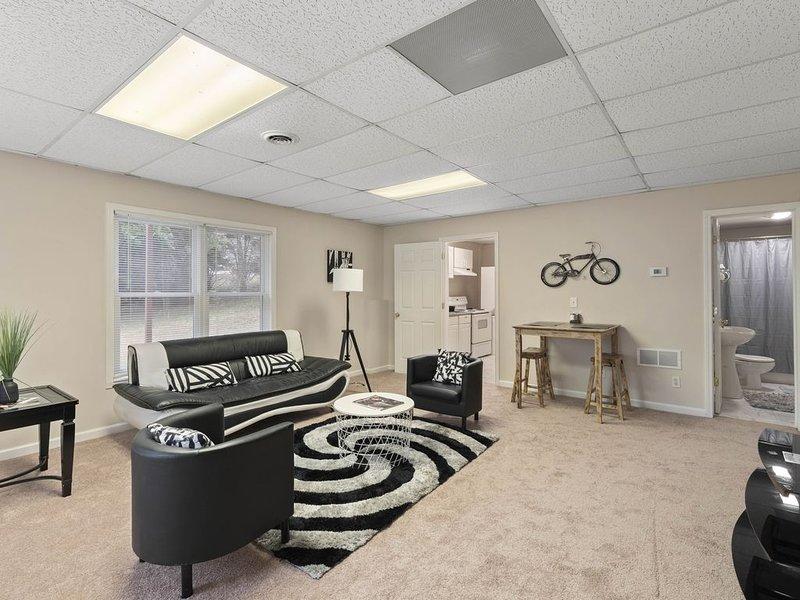 Basement Hideout in  Alpharetta, vacation rental in Hickory Flat