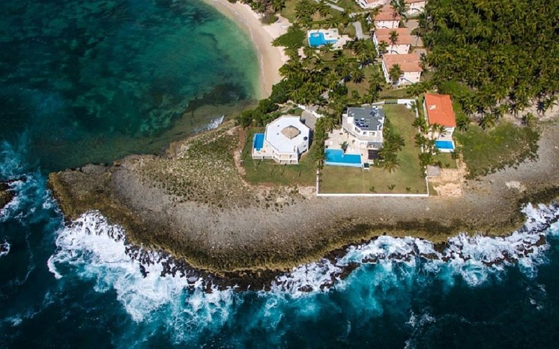 Ocean Front Luxury Villa, holiday rental in Miches